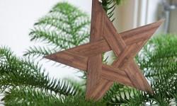 DIY: fem-takket julestjerne