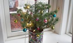 Juletræet med sin pynt