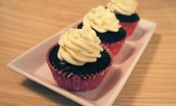 Othello cupcakes