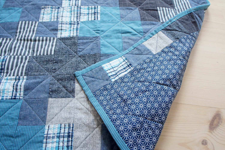 StyleDesignCreate: Plus one patchwork babytæppe