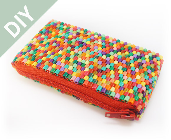 Hama Perler Beads Purse