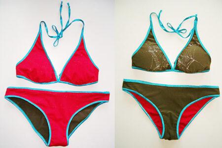 Vendbar bikini