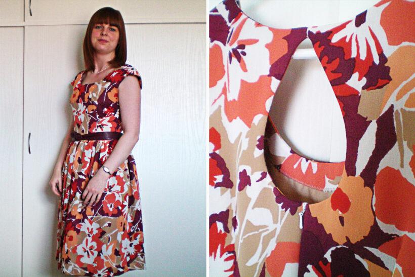 Retro inspireret kjole