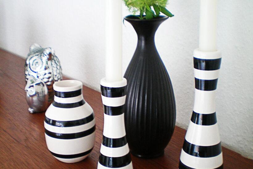 Lysestager og vaser