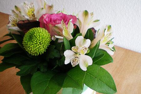 Buket blomster