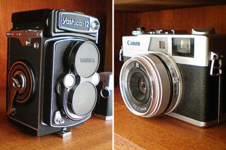 Gamle kameraer