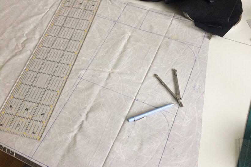 Mønster til taske