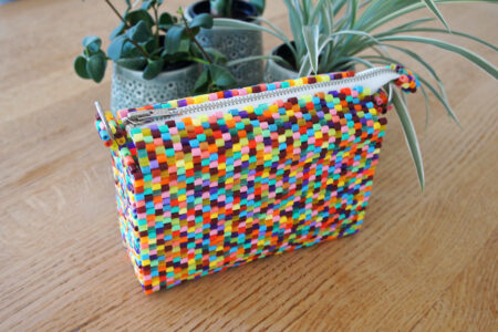 Taske af hama perler