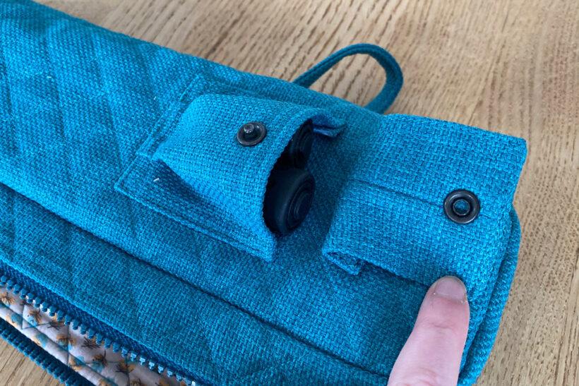 Taske til vandrestave