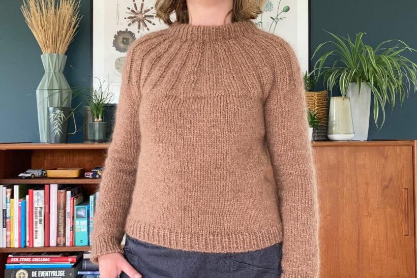 Strikket sunday sweater