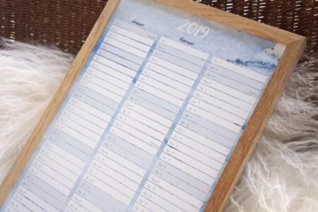 Print-selv kalender