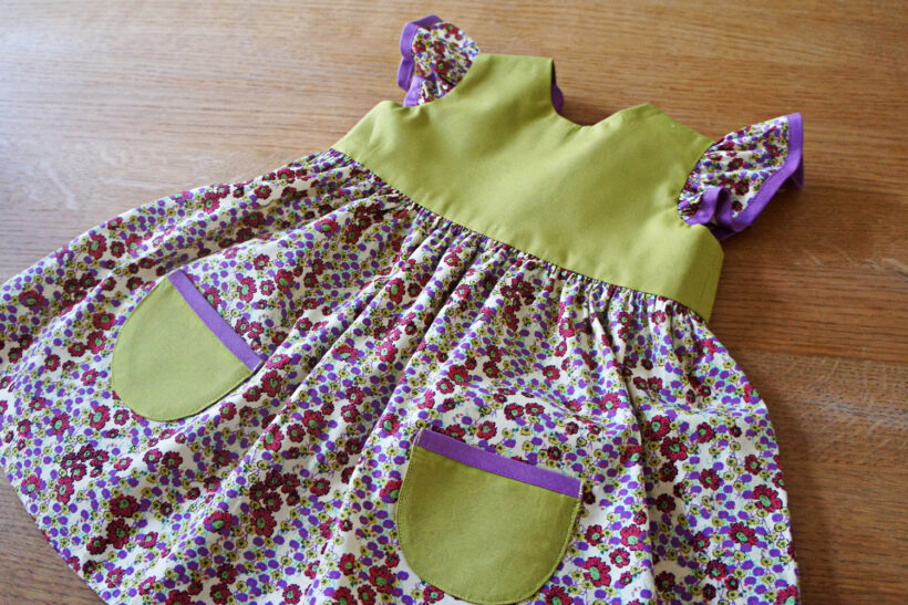 StyleDesignCreate: Lille baby kjole