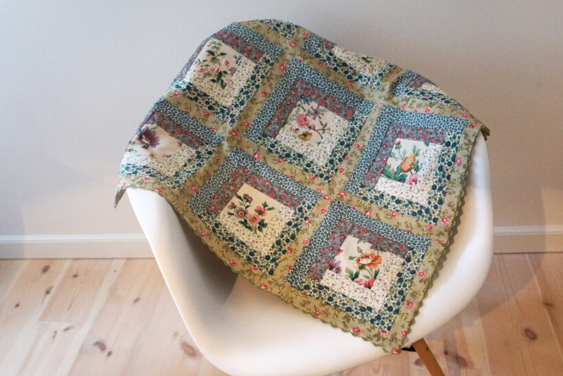 StyleDesignCreate: Patchwork babytæppe