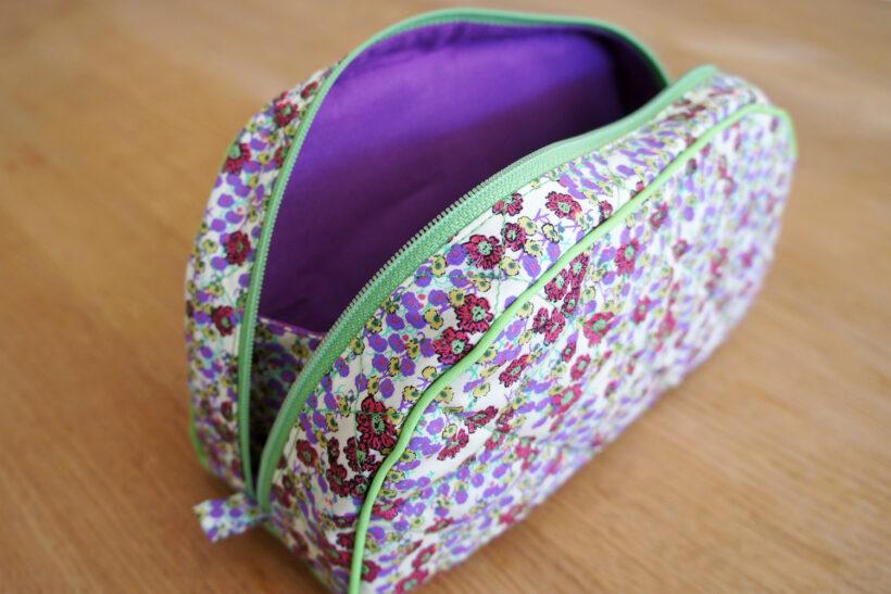 StyleDesignCreate: Blomstret toiletttaske