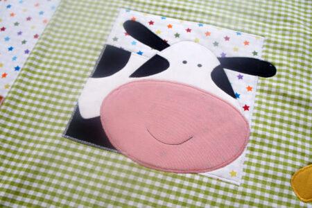 Bondegårdens dyr babytæppe