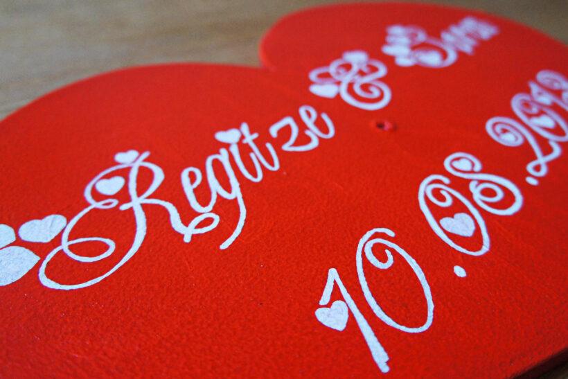 StyleDesignCreate: Bryllupshjerte