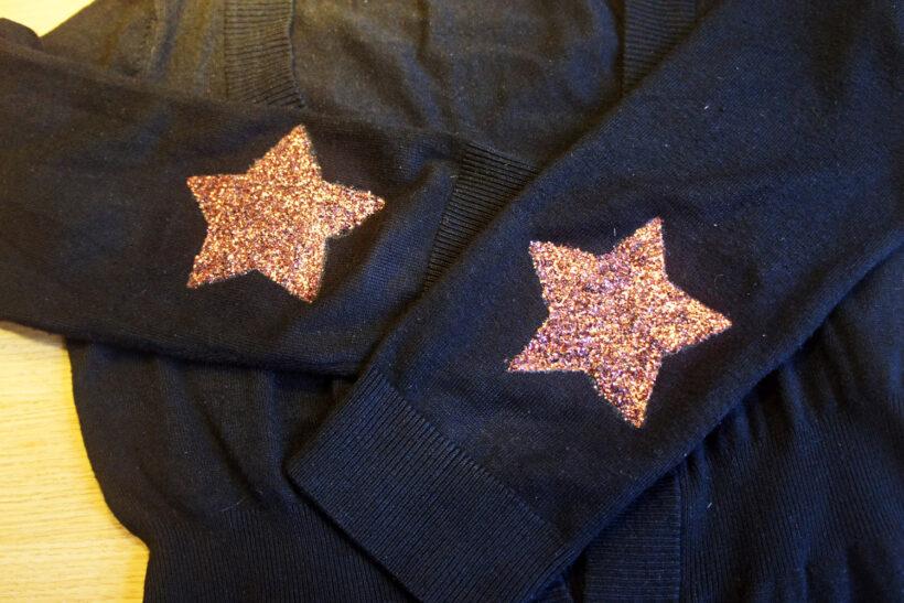 StyleDesignCreate: DIY glimmerstjerne albue-patch