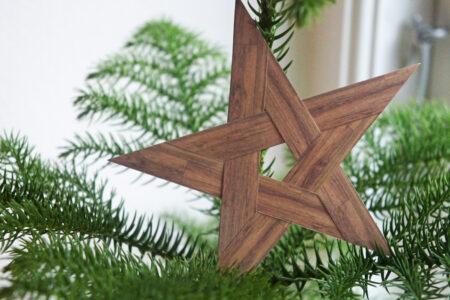 DIY julepynt: Stjerne er papirstrimler