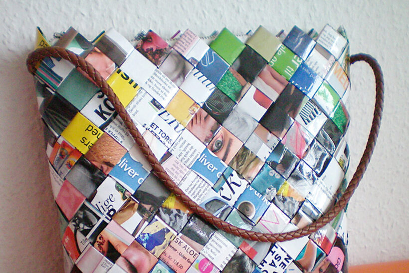 StyleDesignCreate: Flettet papirstaske