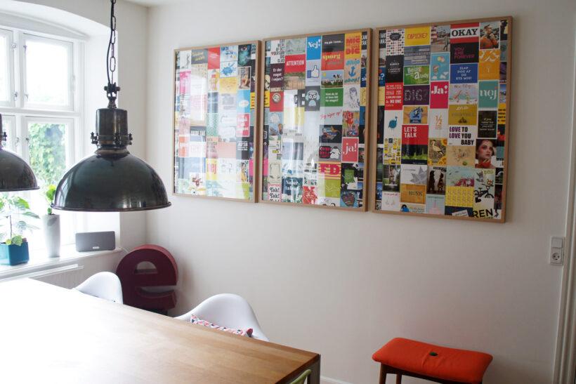StyleDesignCreate: Postkort-væg med go-cards