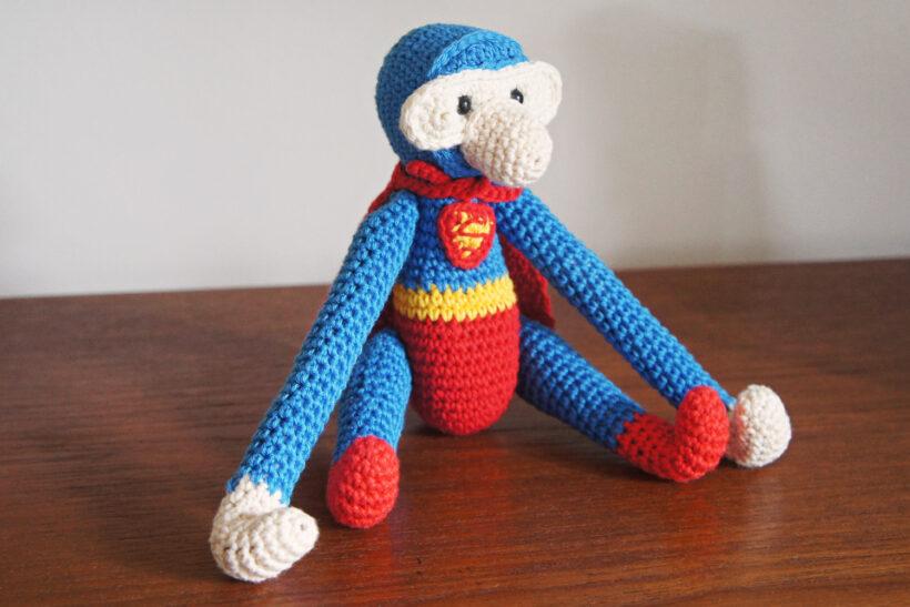 Hæklet abe