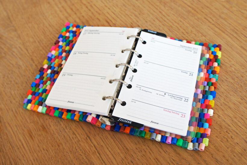 StyleDesignCreate: Hama perler filofax-kalender