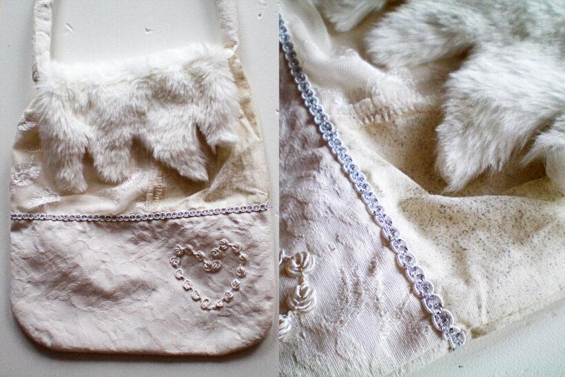 StyleDesignCreate: Hvid vintertaske