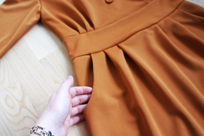StyleDesignCreate: karrygul kjole
