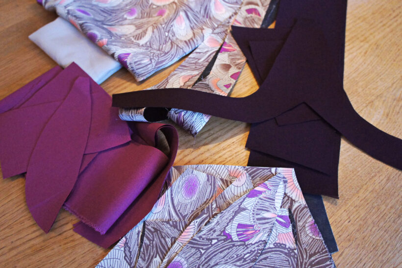 StyleDesignCreate: Kjole in progress