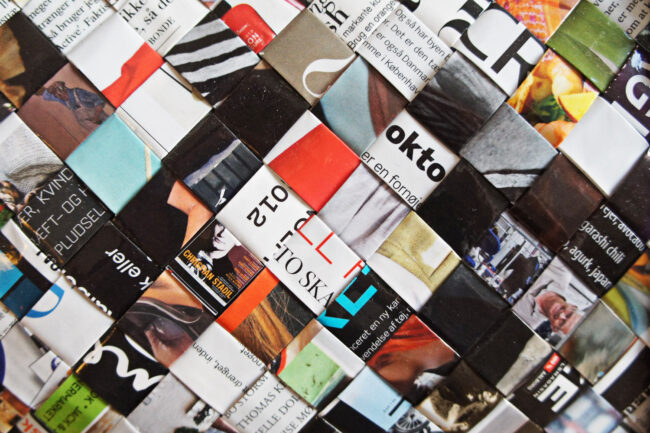 StyleDesignCreate: Stor flettaske i papir