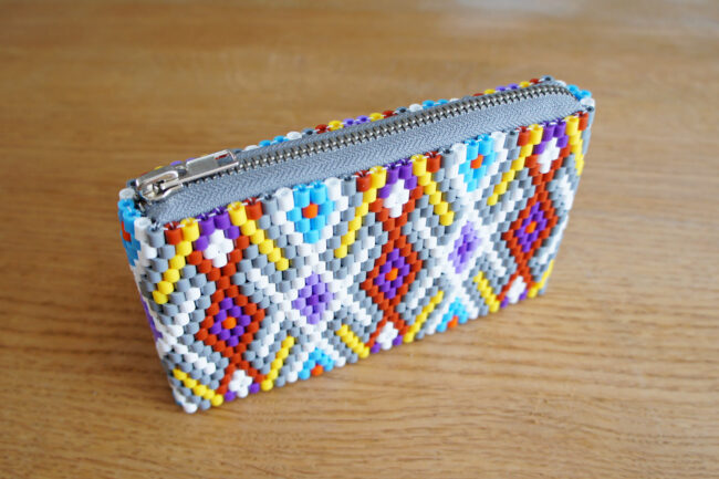 StyleDesignCreate: Mønstret Hama-perlepung