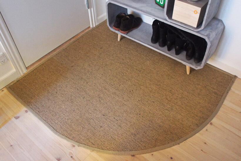 Nyt tæppe i en entreen