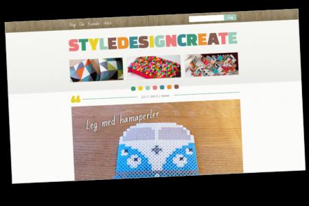 StyleDesignCreate: Nyt blog-design