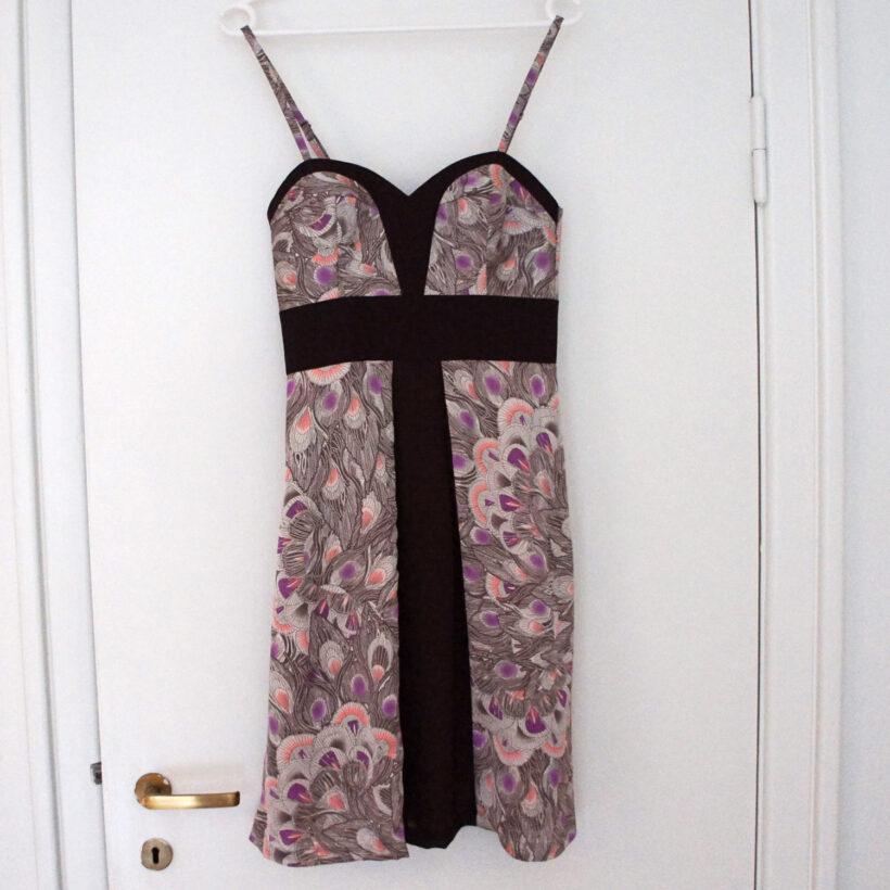 StyleDesignCreate: Lilla påfugl-kjole