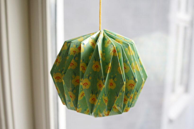 Origami-kugle