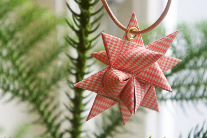 Flettet julestjerne