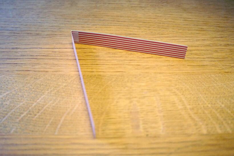 DIY julepynt: Hjerteranke af papirstrimler