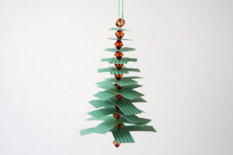 DIY julepynt: Juletræ med grene