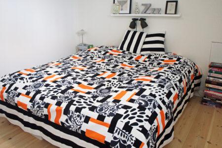 StyleDesignCreate: Færdigt patchwork-sengetæppe