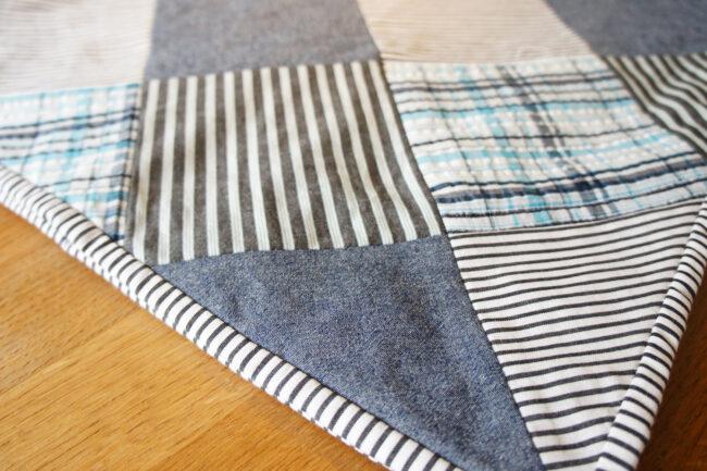 StyleDesignCreate: Patchworktæppe af skjorter