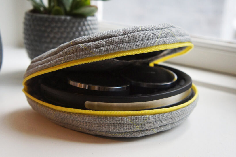 Taske til høretelefoner