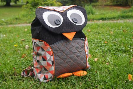 Uglerygsæk / owl backpack